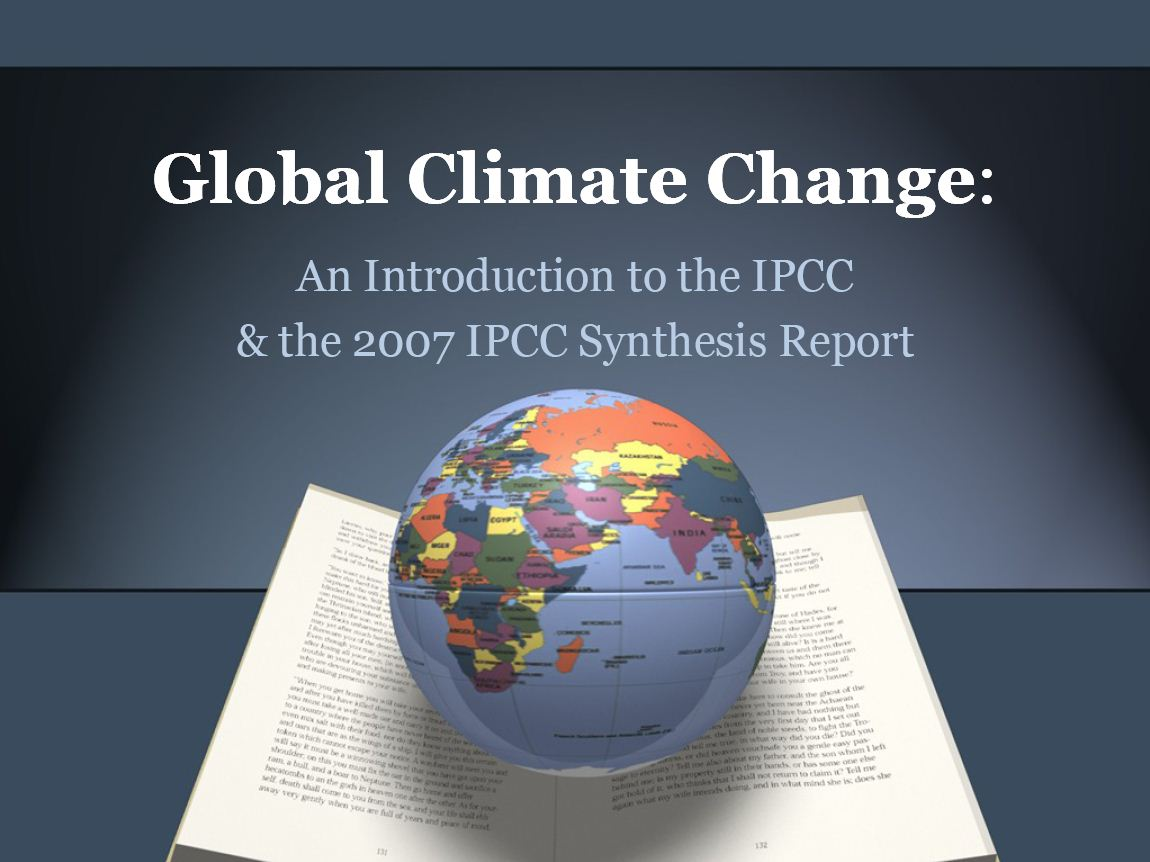 Jennifer a lentzs teaching global climate change ipcc 2009 lecture with answers toneelgroepblik Image collections